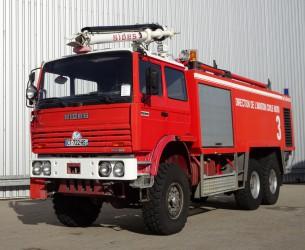 Renault Thomas Sides VMA 68 6x6 Foam Crash-tender, Airport, Flughaven, Feuerwehr, Fire truck, Brandweerwagen TT 3273