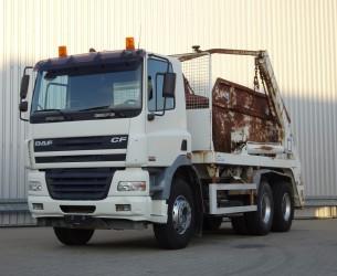 DAF FAT CF85.340 6x4, Portaalarm - Manuel TT 3640