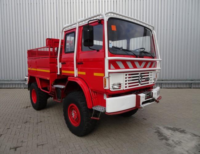 Renault 85.150 4x4 feuerwehr - fire brigade - brandweer - water tank TT 3310