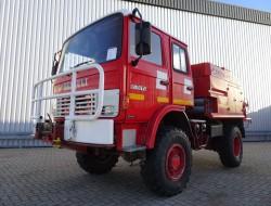 Renault 85.150 TI 4x4 feuerwehr - fire brigade - brandweer - water tank CAMIVA CCF 2000 - Expeditievoertuig TT 3315