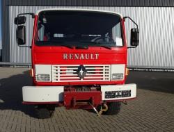 Renault M150 Midliner 4x4 feuerwehr - fire brigade - brandweer - water tank - pomp - Mannschaft TT 3316