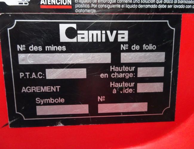 Renault M180 4x4 Camiva CCF 2000 feuerwehr - fire brigade - brandweer - water tank - TT 3369