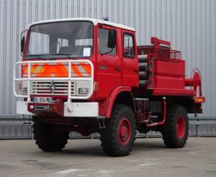 Renault 85.150 Camiva 4x4 feuerwehr - fire brigade - brandweer - water tank TT 3318