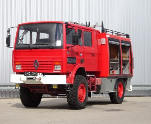 Renault 13.S170 4x4 Sides FPT30 feuerwehr - fire brigade - brandweer - 3.000 ltr. watertank TT 3323