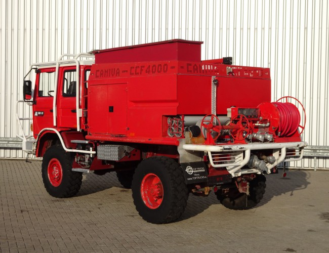 Renault M180 4x4 feuerwehr - fire brigade - brandweer - water tank - Camiva CCF4000 TT 3326
