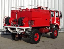 Renault M180 4x4 feuerwehr - fire brigade - brandweer - water tank - Camiva CCF4000 - Expeditievoertuig TT 3327