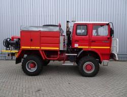Renault 110-150 4x4 feuerwehr - fire brigade - brandweer - water tank, Lier, Winch, Winde TT 3360