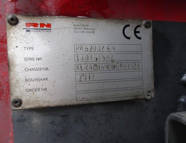 DAF CF85.410 8x2 - Palfinger 62 TM Kraan, Crane, Kran TT 3484