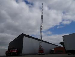 Renault Midliner S150 TI Camiva EPSA 25 Ladderwagen, Ladder Truck, Arbeitsbuhne TT 3546