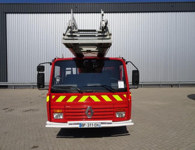 Renault Midliner Ladderwagen, Camiva EPA 30, Arbeitsbuhne TT 3555