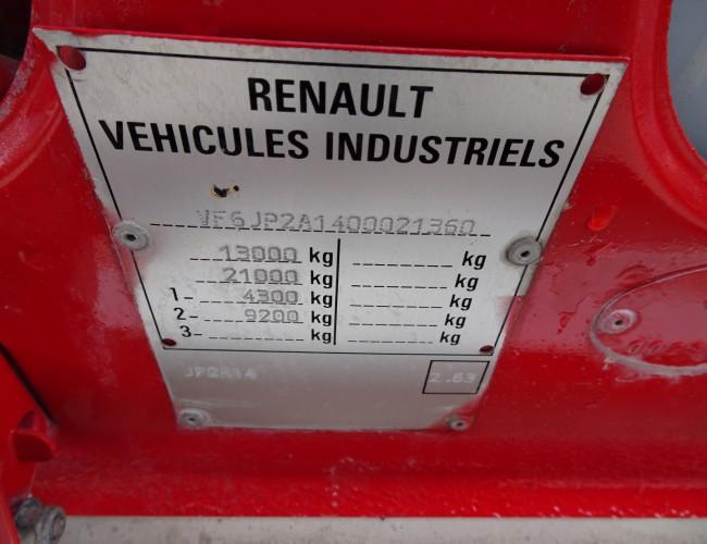 Renault 110-170 4x4, Camiva 3000 ltr, feuerwehr - fire brigade - brandweer, Pomp. TT 3596