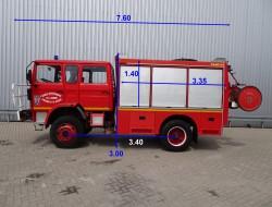 Renault S170 4x4 Turbo - CAMIVA - 3.000 ltr water tank - feuerwehr - fire brigade - brandweer TT 3603