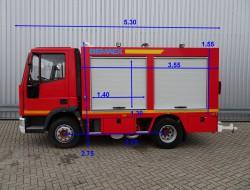 Iveco Euro Cargo 80 E15 Calamiteitenauto, 17,5 kva 24/220/380 Generator TT 3608