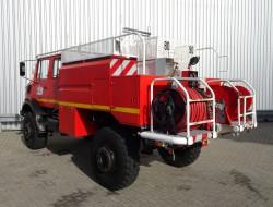Mercedes-Benz Unimog 2150 L380 4x4 - Mercedes Benz (437), Doppelkabine, SIDES CCF4000 ltr. feuerwehr - fire brigade - brandweer, Pomp - Expeditievoertuig TT 3721