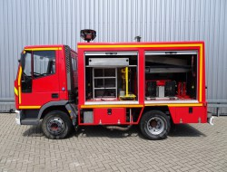 Iveco 80E150 Calamiteiten truck, 16 KVA Electricity aggregate, Elektrizitat Aggregat, Elektriciteit Aggregaat, water tank, high pressure pomp. TT 3623