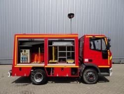 Iveco 80E150 Calamiteiten truck, 16 KVA Electricity aggregate, Elektrizitat Aggregat, Elektriciteit Aggregaat, water tank, high pressure pomp. TT 3623