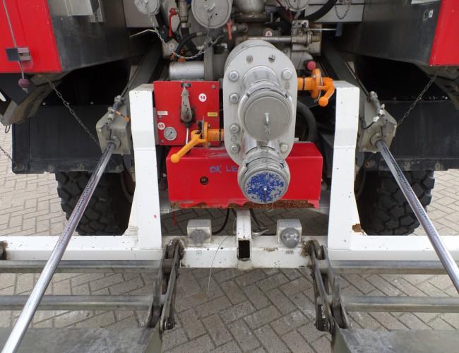 Renault M210 4x4 water 3.000 ltr - additief/foam 60 ltr brandweer blusvoertuig - feuerwehr - fire brigade - Dubbele cabine, dubble cabin, mannschaftskabine water t TT 3634