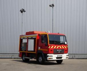 MAN LE180 C Calamiteiten truck, 18 KVA Electricity generator, Elektrizitat Generator, Elektriciteit generator TT 3668