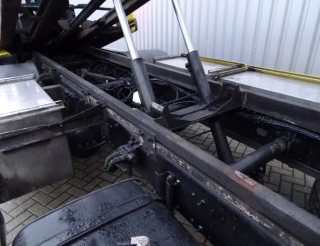 MAN 18.240 4x2 - 16TM Kraan, Kran - 5T. Schuifplateau, Schiebplateu - Hubbrille  - Lier, Winde TT 3812