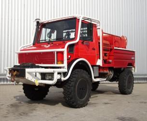 Unimog MB U1550 L37 (2150) Fire Truck - Lier, Winch, Winde - Watertank - Pomp - Dingo Achsen! TT 3676