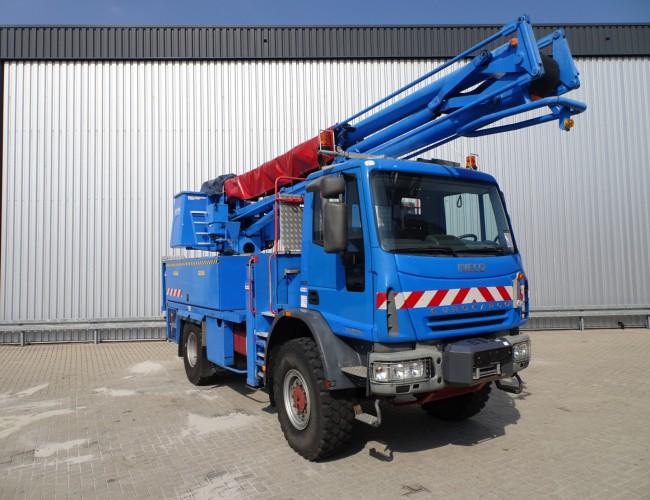 Iveco Eurocargo 140E24 4x4 -17 mtr. Hoogwerker, Platform, Arbeitsbuhne TT 3687