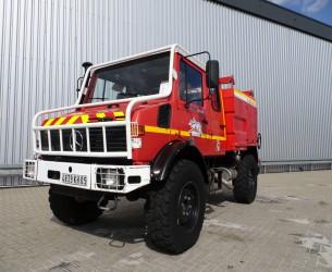 Unimog Mercedes Benz 4x4 - Unimog U1550 L320 (437), SIDES CCF2000 ltr. feuerwehr - fire brigade - brandweer, Pomp - Expeditievoertuig, Camper TT 3692