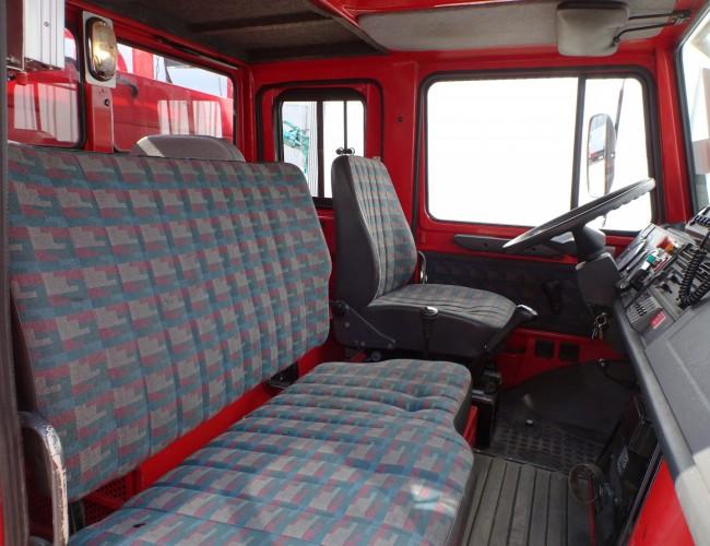 Unimog Mercedes Benz Unimog U1550 L320, SIDES CCF2000 ltr. feuerwehr - fire brigade - brandweer, Pomp TT 3692