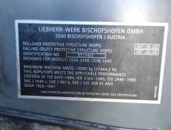 Liebherr L 538 Wiellader, Wheelloader - kein 524,528,534, 542 TT 3815