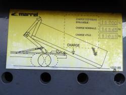 DAF FAN CF 75.310 6x2 - HMF 14 TM Z Kraan, Crane, Kran - Haakarm, Hooklift, Abrolkipper TT 3756