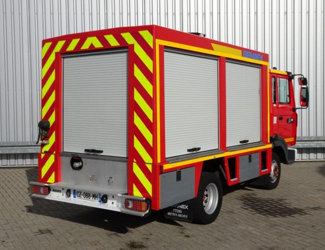 Renault S 180 Midliner Calamiteiten truck, Electricity generator, 20 KVA Elektrizitat Generator, Elektriciteit generator, water tank,  Incl. Kniptangen, Nippers, Zangen!! TT 3760