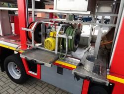 Renault S 180 Midliner Calamiteiten truck, Rescue-Vehicle - Electricity generator, 20 KVA Elektrizitat Generator, Elektriciteit generator, water tank,  Incl. Kniptangen, Nip TT 3760
