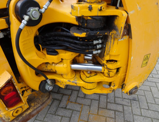 JCB 3CX CAPC Compact Loader - 4x4 - Graaflaadcombinatie, Backhoe - telescopic arm TT 3791