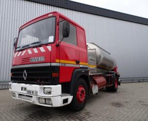 Renault V8 R 390 10.000 ltr. Inox Tank- Fire  - Telma brake! TT 3792