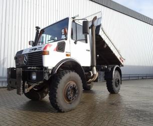 Mercedes-Benz Unimog U 1250 427/13 Mercedes Benz - 4x4 - kipper - 6 cylinder TT 3797