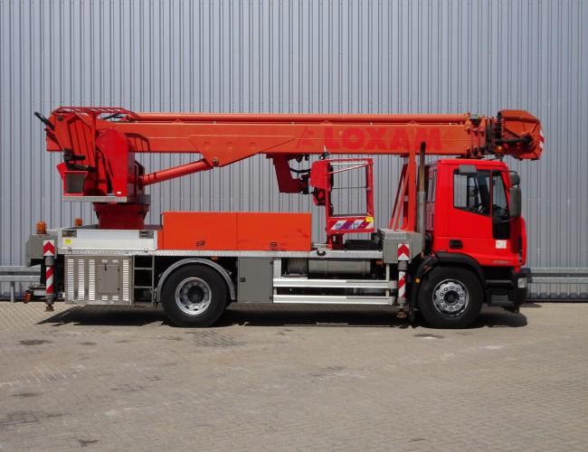 Iveco Eurocargo 180 E28 Multititel J335 ALU - 35mtr. - Hoogwerker, Platform, Hubarbeitsbuhne 35 mtr!! TT 3800