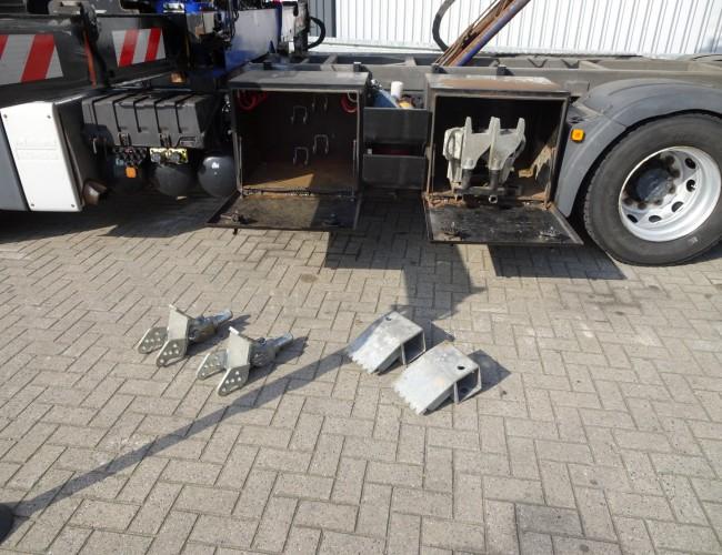 MAN TGA 26.400 6x2 - Year of construction 2013!! - 19TM Kraan, Kran - 10T. Schuifplateau, Schiebplateu - 8T. Bril, Hubbrille - 6.800 kg. Lier, Winde TT 3880
