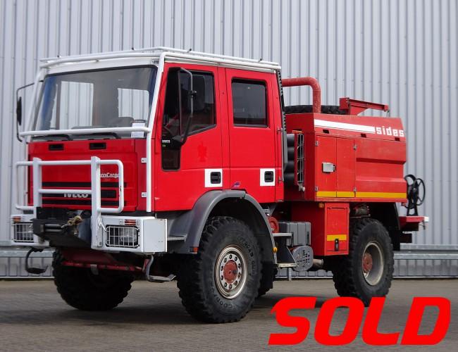 Iveco Eurocargo 135E23 4x4 - SIDES CCFM 110 - feuerwehr - fire brigade - brandweer - 4.000 ltr water tank TT 3881