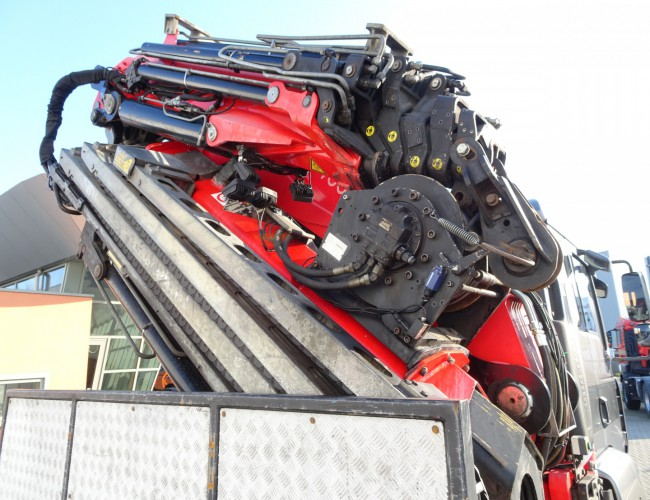 MAN TGA 41.440 2011 Fassi 70TM kraan Jib, Crane, Kran - Lier, Winch, Winde TT 3886
