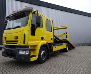 Iveco Eurocargo 130 ED 6T. Schuifplateau, Schiebplateu - Hubbrille - Lier, Winde TT 3839