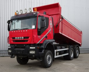Iveco Trakker AT190TW45 6x4 - Hardox kipper - Lift- Stuuras, Lift- Steeringaxle, Lift- Lenkachse!! TT 3848