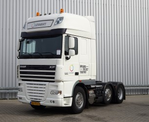 DAF FTG XF105.410 SOLD  6x2 - SuperSpaceCab - Lift-Steeringaxle, Lift-Lenkachse!! TT 3861