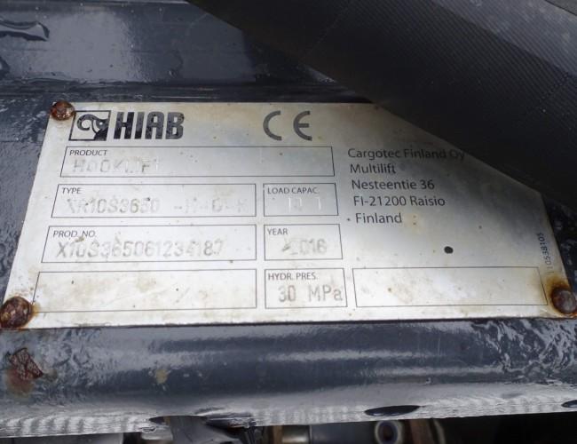 Iveco 190S31 HIAB 9TM Kraan, Crane, Kran - 10t. Haakarm, Hooklift, Abrolkipper TT 3871