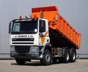 DAF 85 430 6x4 FAT CF85.430 6x4 - Manuel - Kipper TT 3922