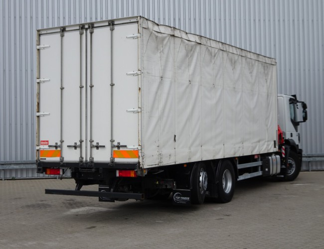 Iveco Stralis 260S31 6x2 - Fassi 17TM Kraan, Crane, Kran TT 3930