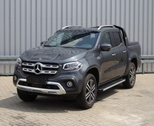 Mercedes-Benz X 350 D 4-Matic V6 Turbo 4x4 - Power Edition - Felsgrau metallic - Dubbele cabine, Doppelcabine, Crewcab, Doka - Ongeval, Unfall, Accident. TT 3942