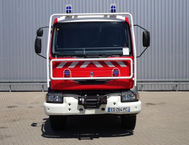 Renault Midlum 220 dci 4x4 Doppelcabine - 3.000 ltr watertank - 200 ltr Foam - Feuerwehr, Fire brigade TT 3959