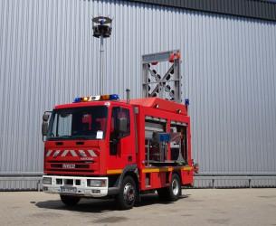 Iveco EuroCargo Tector 80E17 Calamiteitenauto, 27 kva 400 Volt Generator TT 3960