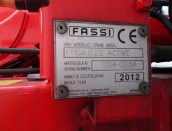 Mercedes-Benz Axor 1829 Fassi 11TM kraan, Crane, Kran TT 3965