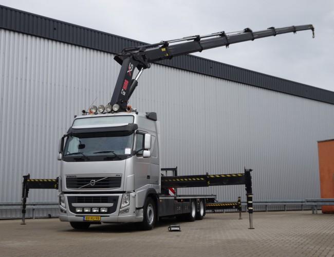 Volvo FH 420 6x2 Hiab 47 TM Kraan, Crane, Kran - NL Truck, E5 very clean! TT 3969