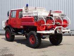 Mercedes-Benz unimog 1550 4x4 Unimog U1550 (437) Mercedes Benz, Doppelkabine, SIDES CCF2000 ltr. - Expeditievoertuig, Camper TT 3970